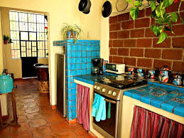 Sweet Mexican Kitchen Decor Home Ideas Easy To Backsplash