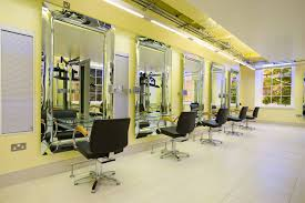 Salon Decor Ideas Images by Salon Interior 1 Gold Loversiq