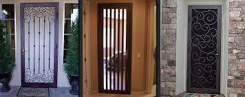 Las Vegas Security Doors Window Guards Wrought Iron Bars Inside
