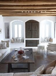 elegante einrichtungsideen wohnzimmer mit fensternischen und