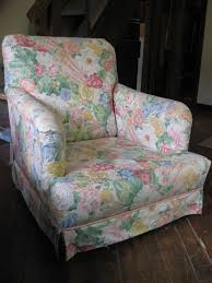 Armless Club Chair Slipcovers by Designed To The Nines Guest Blogger Shelley Anderson On