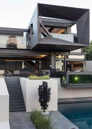100 Contemporary Architecture Homes Kloof Road House Breathtaking Sculptural House That Opens