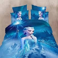 Disney frozen girls bedding set duvet cover bed sheet pillow cases