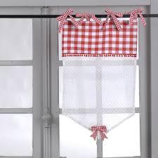 brise bise 100 coton blanc à carreaux vichy 45x70cm