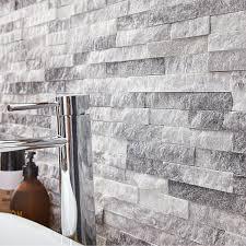 parement mural naturelle plaquette de parement naturelle blanc ultra artic leroy