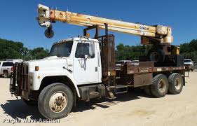 100 Truck For Sale In Texas 1985 Ternational F1954 Crane Truck Item DA6239 SOLD J