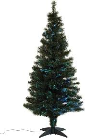 7ft Pre Lit Christmas Tree Tesco by Fibre Optic Christmas Trees