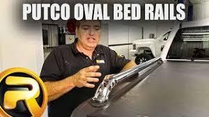 Putco Bed Rails by Putco Crossrails Oval Truck Bed Rails Realtruck Com