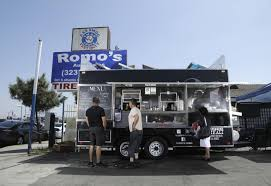 Head To This Mexicali-style Taco Truck In East L.A. For Barbacoa ... Where Do Food Trucks Go At Night Street For Haiti Roaming Hunger Paradise Truck Los Angeles Catering Jim Dow Tacos Jessica Taco East California 2009 The Best Food Trucks In City Cooks Up Plan To Help Restaurants Park Labrea News Beverly Miami 82012 Update Roadfoodcom Discussion Board Book A Rickys Fish Fashionista 365 Los Angeles 241 Lots Of Cart Best Resource Condiments From Taco Truck Stock Photo 49394118