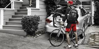 porte vélos thule sur hayon pneu vanhamme