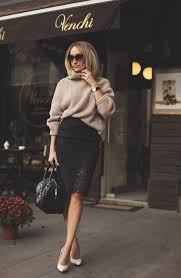 So Now Here Have A Look On Our Latest Presented Collection Of Some Most Beautiful And Trendy Themes Dress Up Featuring Pencil Skirts In Winter Season