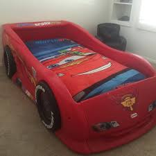 little tikes lightning mcqueen sports car twin bed usa toys