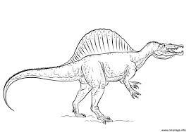 Tyrannosaure Dessin Coloriage Coloriage Spinosaurus Dessin Artemiaorg