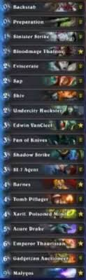 malygos rogue deck hearthstone sjow malygos barnes miracle rogue deck hs decks and guides