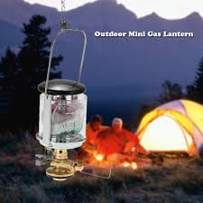 Gas Lamp Mantles Outdoor by Amazon Com Tomshoo Mini Gas Lantern Outdoor Ultralight Compact