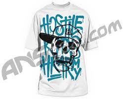 hk army graffiti paintball t shirt white