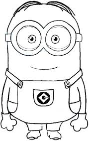 He A Character In Peaceful Inspiration Ideas Minion Coloring Pages To Print King Bob Page