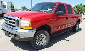 100 1999 Ford Truck F250 Super Duty Crew Cab Pickup Truck Item J4903