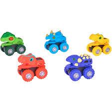 100 Create A Truck Spark Imagine 5Piece Dino Monster Play Set