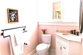Pink Bathroom Tiles What Wall Color Before After All Hail The