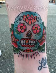 Girly Tattoos Small Traditional American With Tags Day Of The Dead Dia De Los Muertos Folk Art Mexican Old School