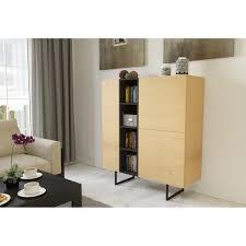 kommode sideboard highboard anrichte wohnzimmer schrank holz abato 120 d eiche