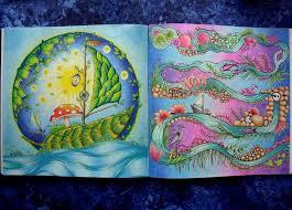 Johannabasford Johannabasfordenchantedforest Zaczarowanylas Kolorowamafia Kolorowankidladoroslych Adultcolouring Colouring Anitaatina
