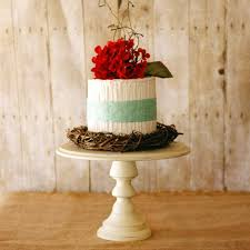 One Rustic Pedestal Cake Stand DIY Kit Comes Unpainted