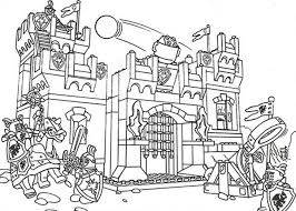 City Of Lego Coloring Pages