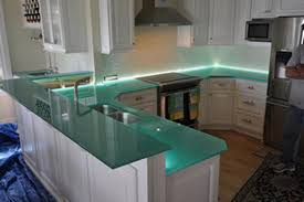 100 Kitchen Glass Countertop S Living Space In 2019 Countertops