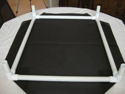 DIY – How to make NO SEW elevated dog beds out of PVC pipes