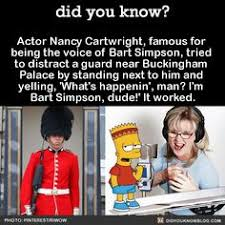Actor Nancy Cartwright Famous For Being The Voice Of Bart Simpson Tried To Distract