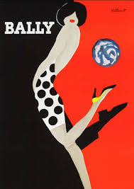 Bally Kick Art Deco Poster Print Download