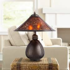 Mica Lamp Shade Company by Nell Arts And Crafts Pottery Mica Shade Table Lamp Amazon Com