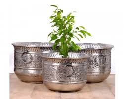 Outdoor Planters and Metal Planters line at MaddHome