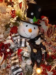 Christmas Decor Show Me Decorating Snowman Tree Decorations