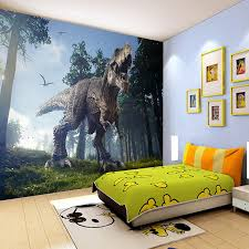 Custom Photo Wall Paper 3D Dinosaurs Painting Mural Wallpapers Bedroom KTV Bar Backdrop Murals Wallpaper Home Decor In From