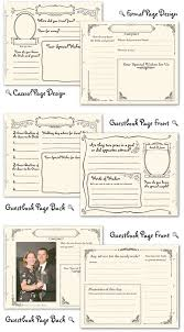 Image Detail For Free Printable Wedding Guest Book Pages