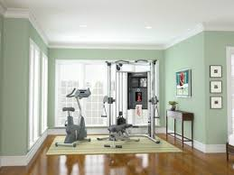 Simple Green Mint Space Sheltering A Home Gym Find For Yours Today