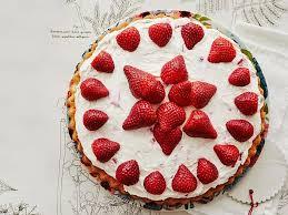 erdbeer mascarpone biskuit blitz kuchen