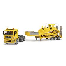 100 Bruder Logging Truck Toys Plastic Realistic Miniature Toy MAN TGA Loader W