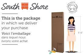 South Shore Step One Dresser Grey Oak by South Shore Soho Collection Dresser Walmart Canada