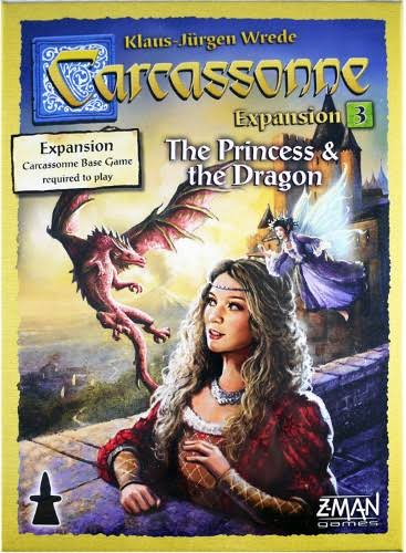 Carcassonne Expansion 3 - The Princess & The Dragon