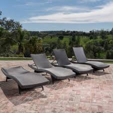 Kirkland Wicker Patio Furniture by Outdoor Chaise Lounges For Less Overstock Com