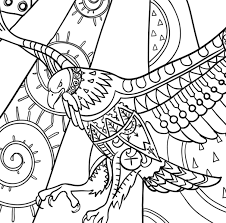 For Kid Coloring Book Birds 50 On To Print With