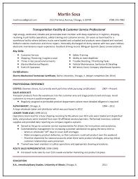28 Logistics Resume Examples Job Description