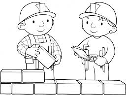 Bob The Builder Coloring Pages Printable Wendy