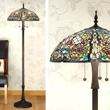 Target Floor Lamp Shades by Floor Lamps Stained Glass Floor Lamp Patterns Stained Glass