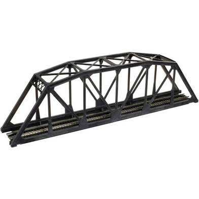Atlas Model 2070 Code 55 Truss Bridge Kit Black N