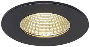 slv led einbaustrahler patta i dimmbar led spot einbau leuchte deckenstrahler für flur wohnzimmer küche badezimmer geeignet led
